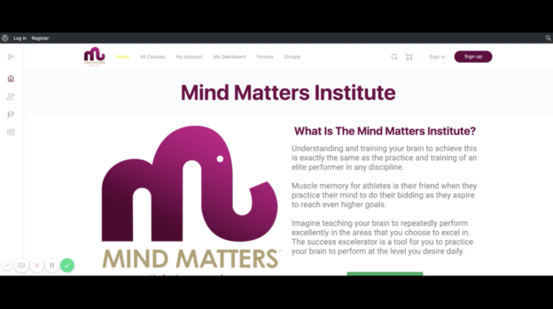 mind matters institute website help